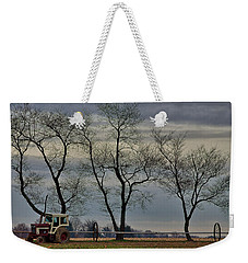 Weekender Tote Bag featuring the photograph  Central Jersey Farmstead by Steven Richman