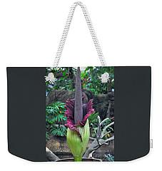 Corpse Flower Weekender Tote Bag by Savannah Gibbs