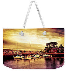 Down At The Dock Weekender Tote Bag