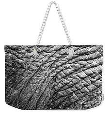Elephant Skin Weekender Tote Bag by Michelle Meenawong