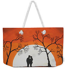 First Kiss Weekender Tote Bag