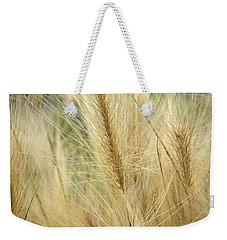 Foxtail Barley Weekender Tote Bag by Jouko Lehto