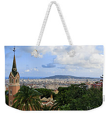 Gaudi's Home Park Guell Weekender Tote Bag by Amy Williams