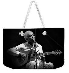 Gilberto Gil   Black And White Weekender Tote Bag