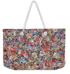 Golf Weekender Tote Bag by Natalie Holland