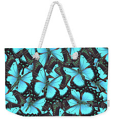 Green Swallowtail Butterfly Weekender Tote Bag