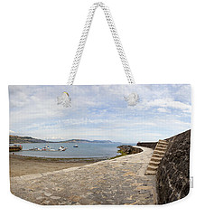 Harbour Wall Lyme Bay Dorset Weekender Tote Bag