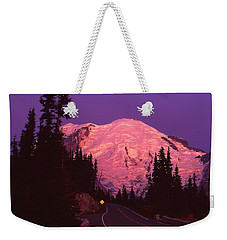 Highway To Sunrise Weekender Tote Bag