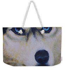 Husky For Cyrus Weekender Tote Bag