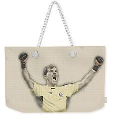 Iker Casillas  Weekender Tote Bag