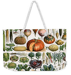 Illustration Of Vegetable Varieties Weekender Tote Bag by Alillot