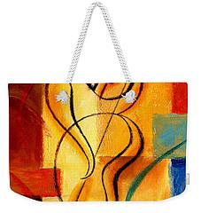 Jazz Fusion Weekender Tote Bag by Leon Zernitsky