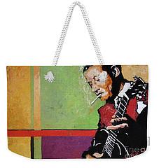 Jazz Guitarist Weekender Tote Bag