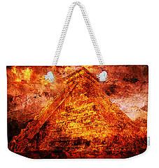 C H I C H E N  .  I T Z A .  Pyramid Weekender Tote Bag
