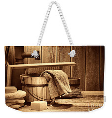 Laundry At The Ranch Weekender Tote Bag by American West Legend By Olivier Le Queinec