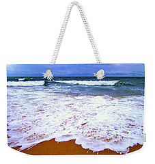 Weekender Tote Bag featuring the photograph  Montauk 1 by Cindy Greenstein