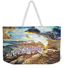 Moving Clouds Weekender Tote Bag