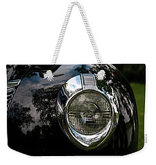 Weekender Tote Bag featuring the photograph  One Eye 13128 by Guy Whiteley