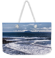 Weekender Tote Bag featuring the photograph  Point Loma And Islos Los Coronados by Daniel Hebard