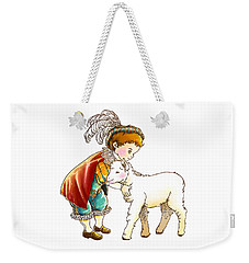Prince Richard And His New Friend Weekender Tote Bag by Reynold Jay