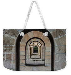 Receding Arches Weekender Tote Bag