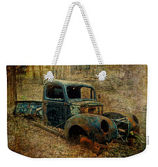 Resurrection Vintage Truck Weekender Tote Bag