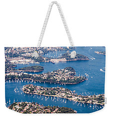 Weekender Tote Bag featuring the photograph  Sydney Vibes by Parker Cunningham