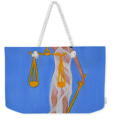The Balance  Weekender Tote Bag by Lorna Maza
