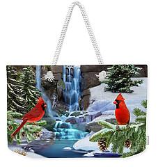 The Cardinal Rules Weekender Tote Bag by Glenn Holbrook