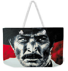 - The Good The Bad And The Ugly - Weekender Tote Bag by Luis Ludzska