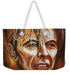 Tribute To David Weekender Tote Bag