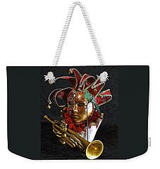 Venitian Joker Weekender Tote Bag