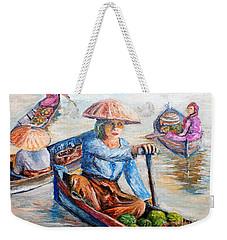 Women On Jukung Weekender Tote Bag