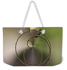 Wood Warbler Weekender Tote Bag by Jouko Lehto