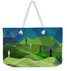 009  Human Figures In Landscape 2017 Weekender Tote Bag