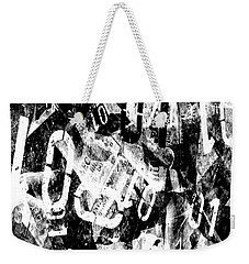 Weekender Tote Bag featuring the digital art 01 by Sladjana Lazarevic