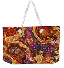 010118 Abstract Weekender Tote Bag