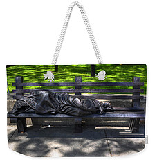 02 Homeless Jesus By Timothy P Schmalz Weekender Tote Bag