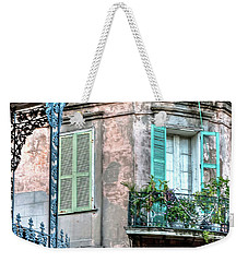 0254 French Quarter 10 - New Orleans Weekender Tote Bag