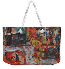 027 Abstract Thought Weekender Tote Bag