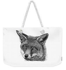 044 Vixie The Fox Weekender Tote Bag by Abbey Noelle