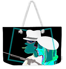 046 - Bonnie And Clyde 2017 Weekender Tote Bag by Irmgard Schoendorf Welch