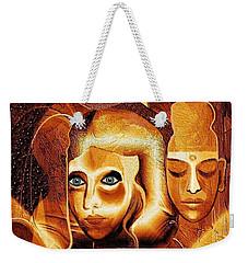 053 - Golden People A Weekender Tote Bag