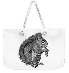058 Sweeney The Squirrel Weekender Tote Bag by Abbey Noelle