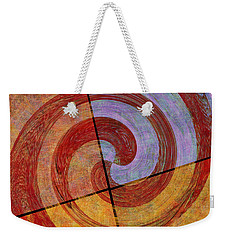 0581 Abstract Thought Weekender Tote Bag