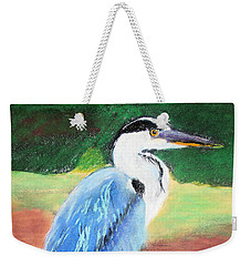 08282016 Female Blue Heron Weekender Tote Bag
