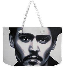 - Johnny - Weekender Tote Bag by Luis Ludzska