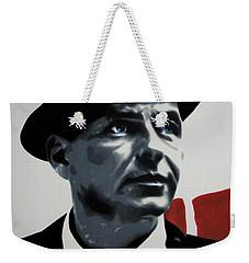 - Sinatra - Weekender Tote Bag by Luis Ludzska