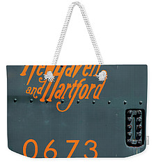 Weekender Tote Bag featuring the photograph 0673 by Karol Livote
