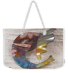 1393 Elephant Ear Pendant Weekender Tote Bag